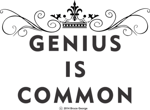 Genius is Common Only AgainNew